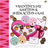Valentine's Day Math Word Problem Game