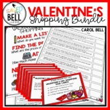 Valentine's Day Math Worksheets and Task Cards
