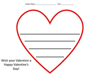 Valentine's Day Math and Craft Packet