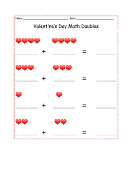 Valentine's Day Math and Language Arts