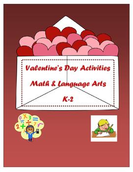 Valentine's Day Math and Language Arts