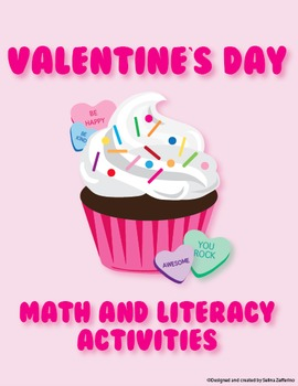 Valentine's Day Math and Literacy Activities Supreme Bundle