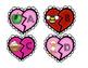 Valentine's Day Math and Literacy Centers for Kindergarten