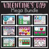 Valentine's Day Math and Literacy MEGA BUNDLE for Google Slides