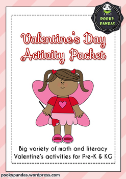 Valentine's Day - Math and Literacy Packet