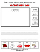 Valentine's Day Math and Literacy Workbook (65 Pages)