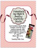 Valentine's Day Math and Reading Craftivity Bundle!