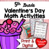 Valentine's Day Math for 5th Grade