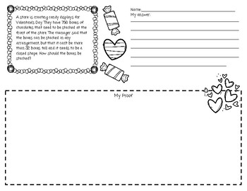 Valentine's Day Math for Big Kids! Task Cards and Thinking Tasks