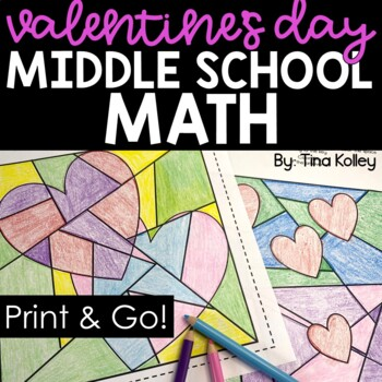 Valentine's Day Math for Middle School