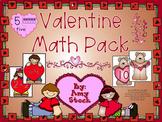 Valentine's Day Math pack
