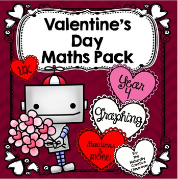 Valentine's Day Maths Pack for Year 4