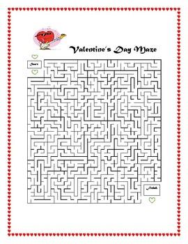 Valentine's Day Maze