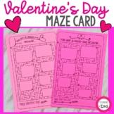 Valentine's Day Maze Card
