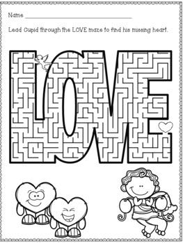 Valentine's Day Mazes