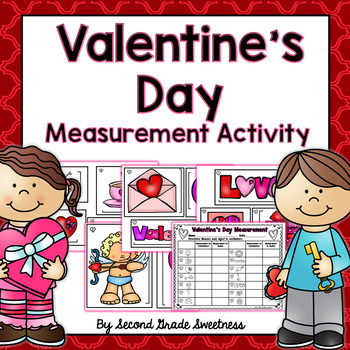Valentine's Day Measurement Activity: Measuring in Inches