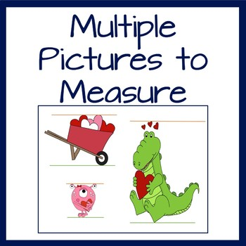 Valentine's Day Measurement Center Activity