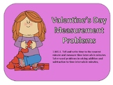 Valentine's Day Measurement - Elapsed Time  3.MD.1