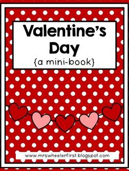 First Grade Mini-Book: Valentine's Day