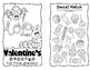 Valentine's Day Mini Book BUNDLE - includes grades K-6