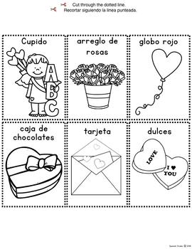 Valentine's Day Mini-Book (Spanish)