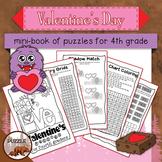 Valentine's Day Mini Book for Fourth Graders