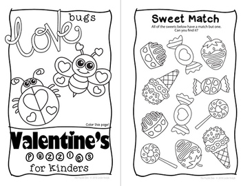 Valentine's Day Mini Book for Kinders