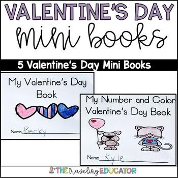 Valentine's Day Mini Books