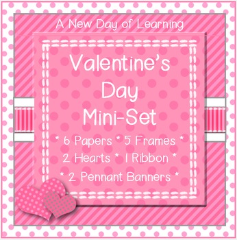 Valentine's Day Mini Clip Art Set