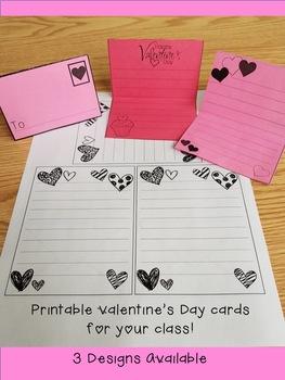 Valentine's Day Mini-Letters