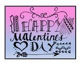 Valentine's Day Mini Printable Cards