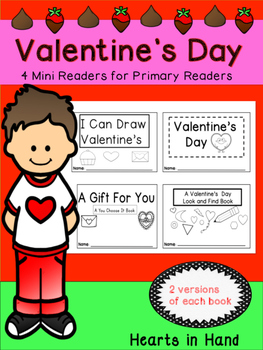 Valentine's Day Mini-Readers for Primary