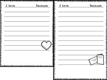 Valentine's Day Mini-book