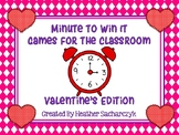 Valentine's Day Minute to Win It
