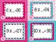 Valentine's Day Missing Factor Task Cards