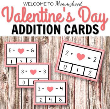 Valentine's Day Addition Printables