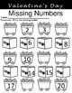 Valentine's Day Missing Numbers