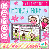 Valentine's Day Monkey Math