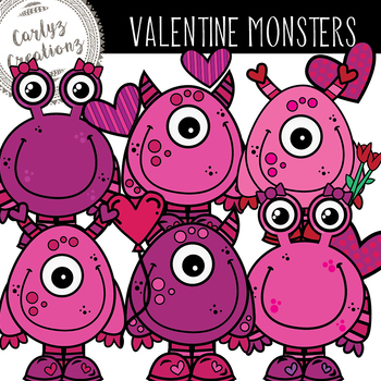 Valentine's Day Monsters