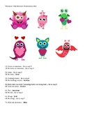 Valentine's Day Monsters Dichotomous Key