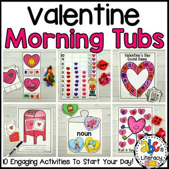 Valentine's Day Morning Tubs