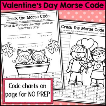 Valentine's Day Morse Code