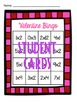 Valentine's Day Multiplication Bingo 0, 1 & 2 Families
