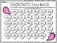Valentine's Day: Multiplication & Division Mazes