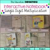 Multiplication: Interactive Notebook for Valentine's Day