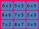 Valentine's Day Multiplication Memory Game