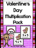 Valentine's Day Multiplication Pack