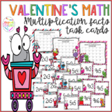Valentine's Day Multiplication Tables Task Cards