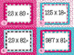 Valentine's Day Multiplication Task Cards