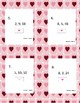 Valentine's Day Multiplication and Division Fact Families Task Cards